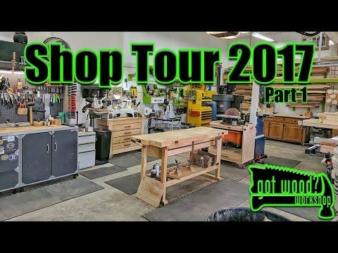 Shop Tour 2017 Part 1 - 3 Car Garage Workshop
