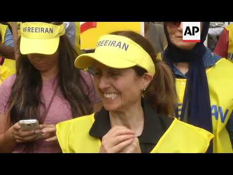 Protesters In NY Call For End To Iranian Regime