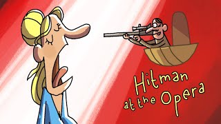 Hitman at the Opera | Cartoon Box 235 by FRAME ORDER | Hilarious Hitman Cartoon