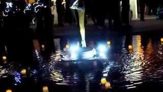 Events de luxe velas flotantes