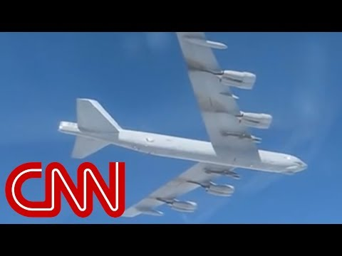 See USA B-52 Bomber Caught on Russian Camera!