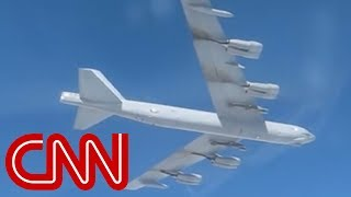 US B-52 bomber caught on Russian camera