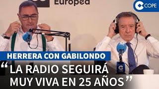 """Carlos Herrera e Iñaki Gabilondo en COPE: """"No hay que informar primero. Hay que informar bien."""""""
