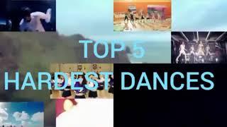 TOP 5 HARDEST K-POP DANCES