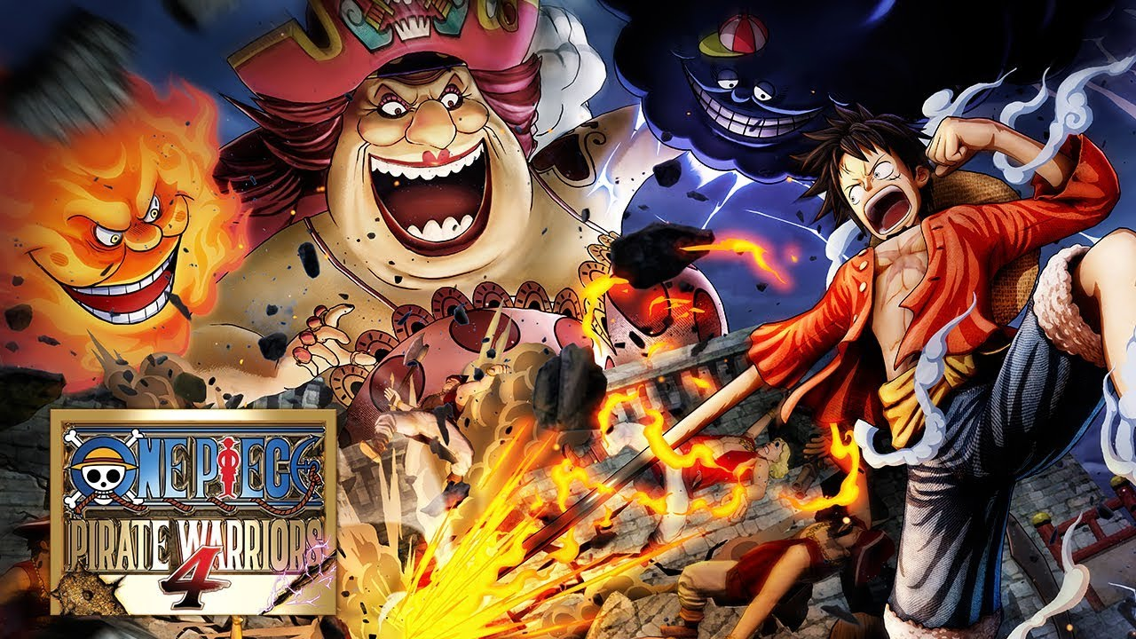 One Piece Pirate Warriors 4 Reveal Trailer Ps4 Xb1