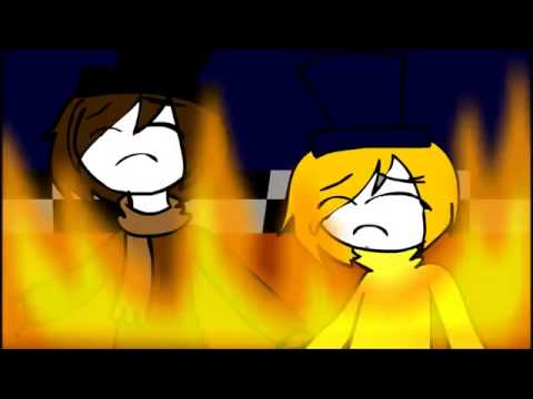 FNAF SONG DIE IN A FIRE ANIMATION!