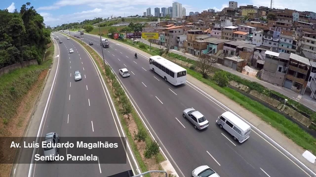 Resultado de imagem para fotos da avenida luis eduardo magalhaes