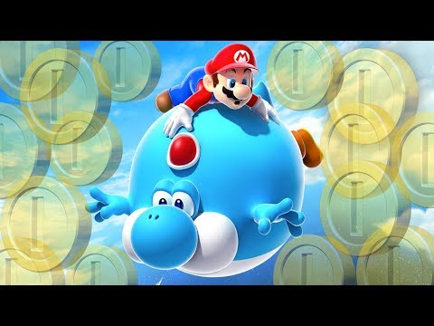 TODAS AS MOEDAS SECRETAS DO CÉU! – New Super Mario Bros U