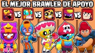 WHAT IS THE BEST SUPPORT BRAWLER? | 5 BRAWLERS | BRAWL STARS OLYMPICS
