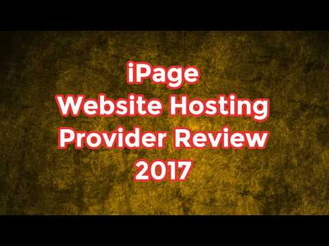iPage Website Hosting Provider Review 2017
