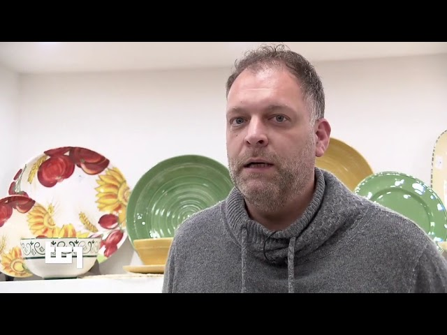 Ceramiche NOI servizio TG1 del 19 novembre 2019