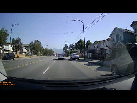 ACCIDENT ON JULY 26 2018 - DASH CAMERA FOOTAGE FROM AUTO VOX M6 PART 1