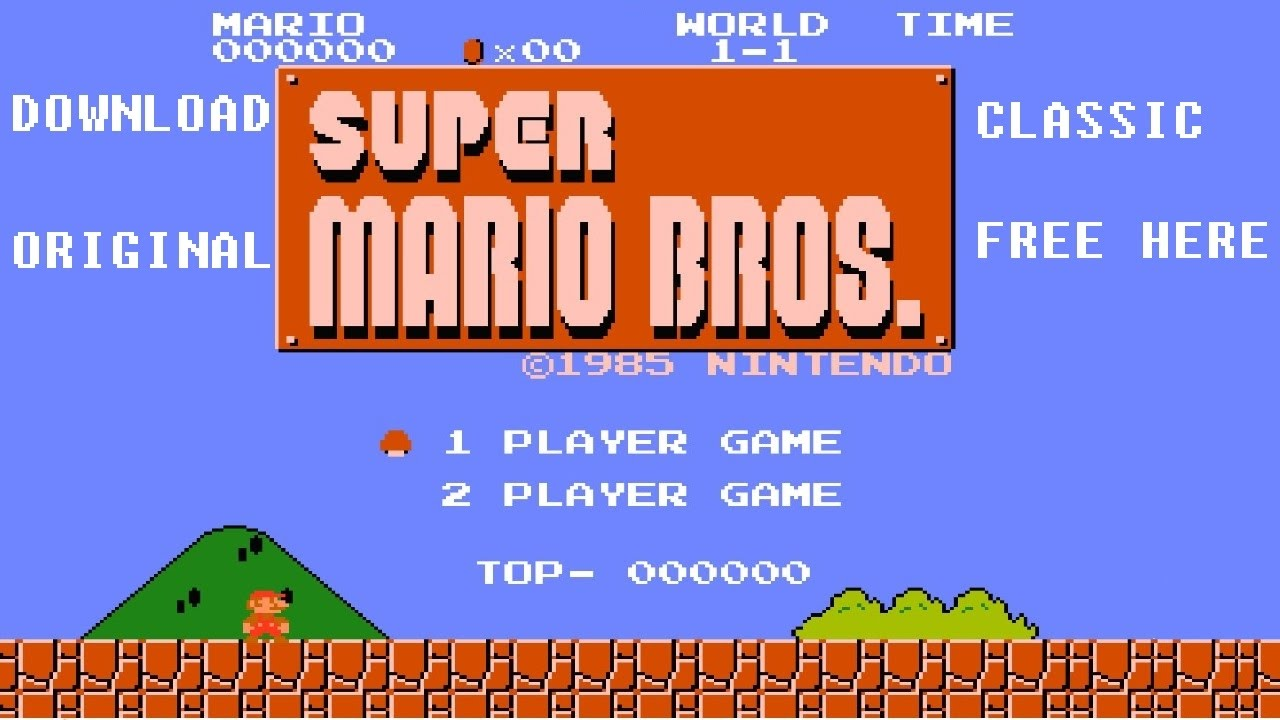 download mario bros original