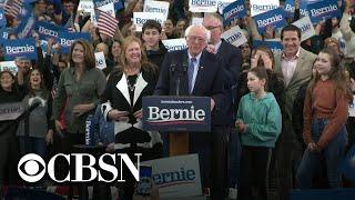 CBS News projects Bernie Sanders wins New Hampshire primary