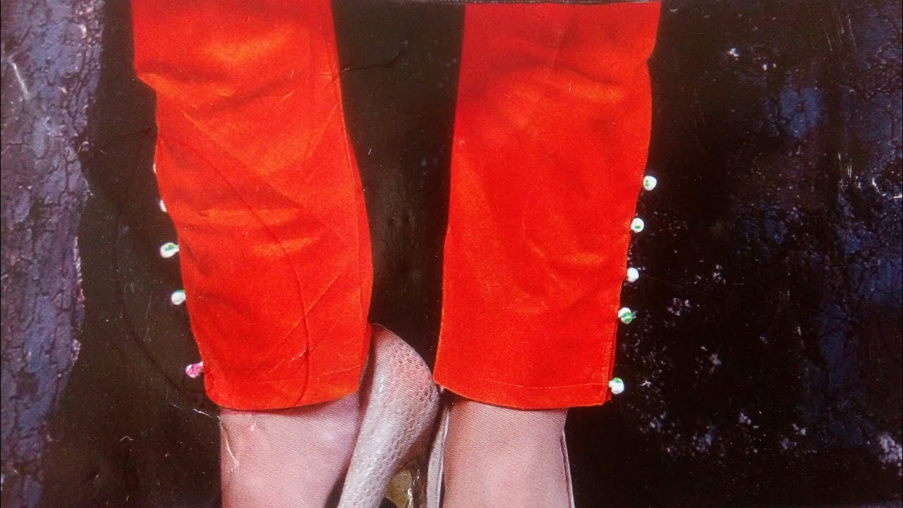 Ankle Length Pant Cutting And Stitching In Hindi Designer Straight