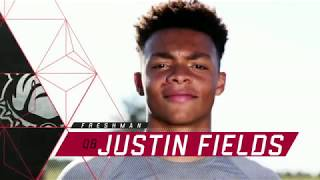 Justin Fields 2018 - All plays through Auburn