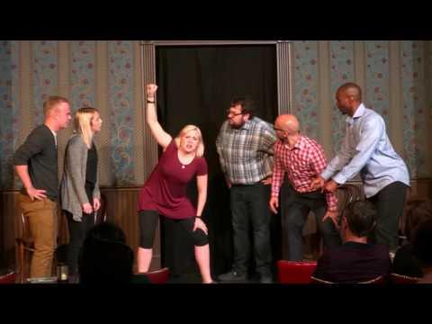 Velvet Stallion Improv Comedy June 2, 2017 Blackout Cabaret @ The Second City