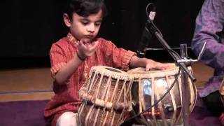 Tabla by 4 years old Ali