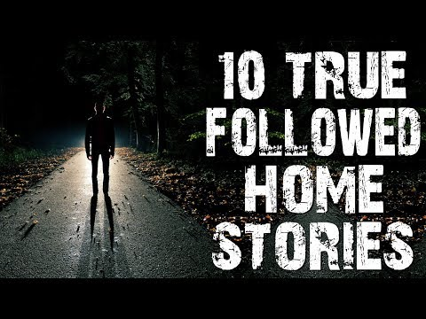 10 TRUE Disturbing & Terrifying Followed Home Horror Stories From Reddit | (Scary Stories)