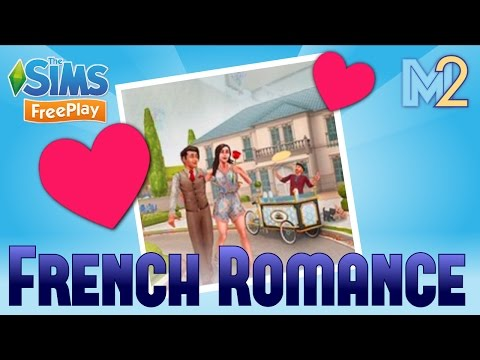 Sims FreePlay - French Romance Event Tutorial (Special Preview)