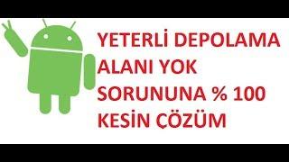 Android Telefon Temizleme Hafıza Arttırma Rootsuz Kesin Çözüm!