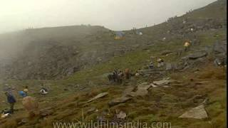 Amazing  view of the Nanda Devi Raj Jat Yatra