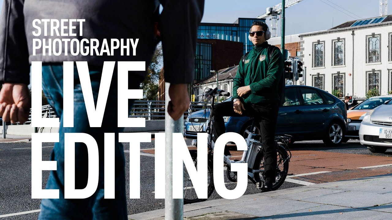 Editing Sony A6000 Street Photography in Lightroom - Live Editing Session
