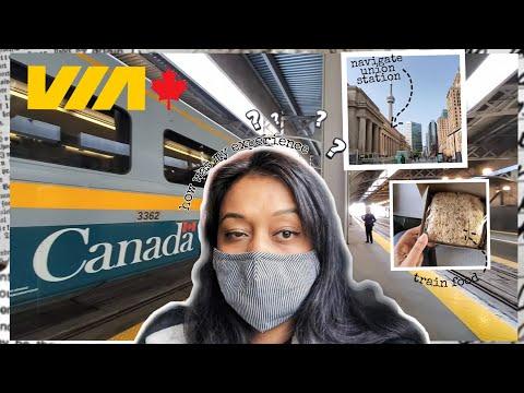Toronto to Montreal 🇨🇦 by VIA Rail Vlog