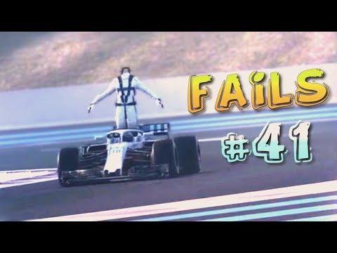 Racing Games FAILS Compilation #41