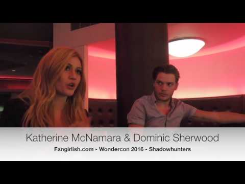 Wondercon Interview: Dominic Sherwood and Katherine McNamara