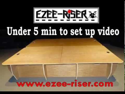 Ezee-Riser Drum Riser - how to set it up