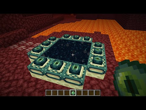 will the end portal work in the nether?