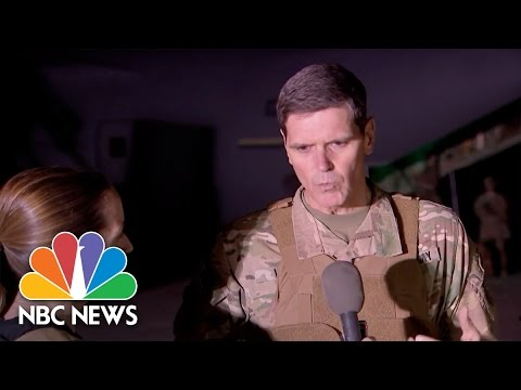 Army Generals Detail Central Role Of 'Q-West' Base In Mosul | NBC News