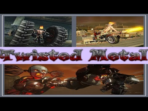 Evolution of Twisted Metal Games 1995-2012. Games Series Evolution