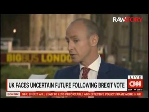 Christian Amanpour interviews MEP Dan Hannan