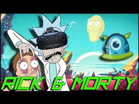 WTF IS THAT?! ► Rick and Morty VR - ENDING :: HTC VIVE
