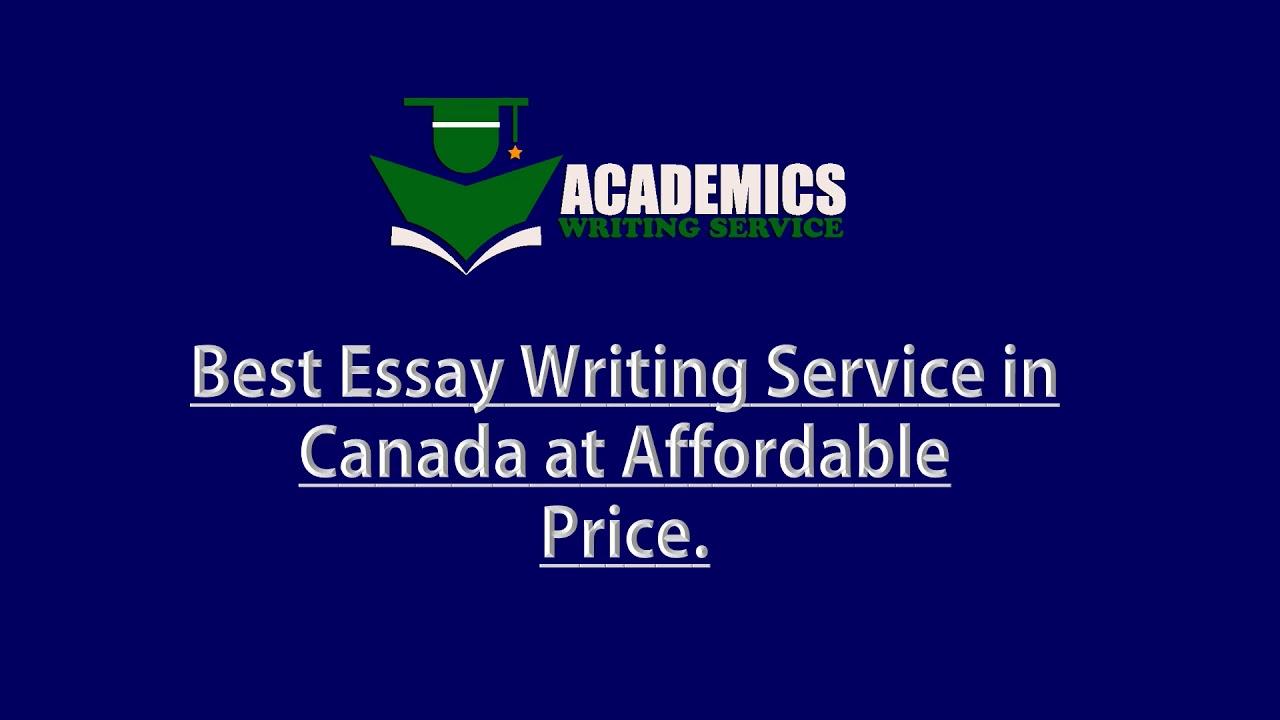 Canada writing service