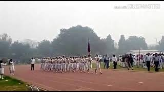 Sangam vihar NCC Boys in zonal marching competition 2018