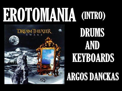 Argos Danckas - Drums and Keyboards - Intro Erotomania (Dream Theater)