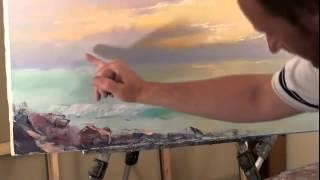 БЕСПЛАТНО  Полный Видеоурок  Закат на море  Сахаров