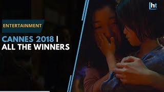 Cannes 2018   All the winners