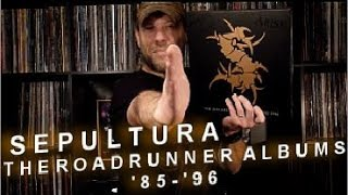 Sepultura | The Roadrunner Albums Vinyl Box Set ('85-'96)