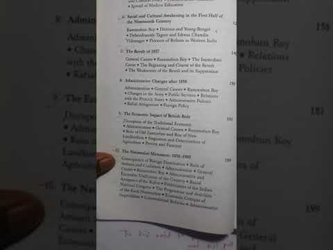 Modern India book review written by- Bipan Chandra