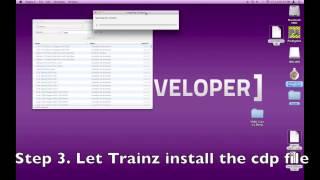Trainz Simulator: Mac How to install cdp files