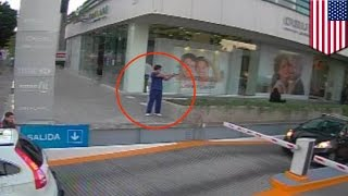 Attempted murder caught on camera  California man charged for shooting of U S  diplomat   TomoNews