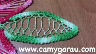 Umplutura frunze laseta #26/Romanian point lace