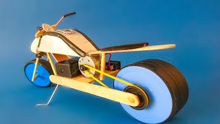 how to make bike with cardboard