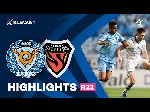 Daegu Pohang Goals And Highlights