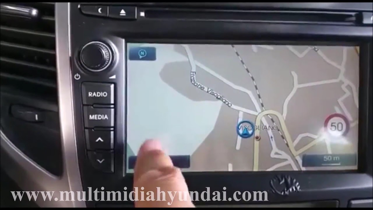 Touch Screen Hyundai i20 (does not work)