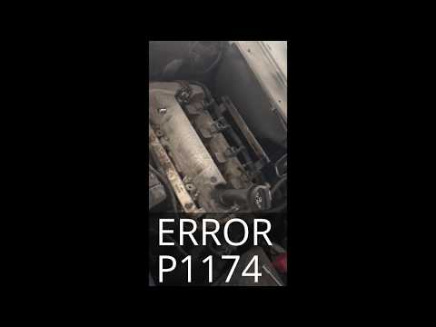 06 HHR Fuel Injector Replacement P1174